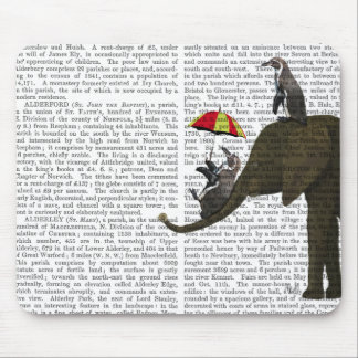 Elephant and Penguin Mouse Mat