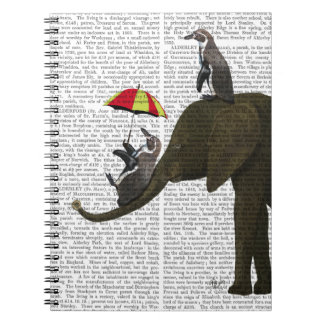Elephant and Penguin Notebook
