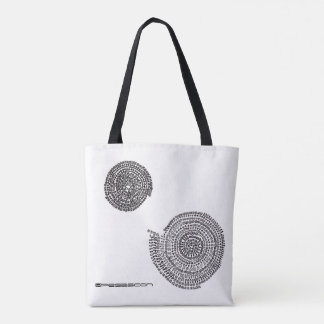 Elephant and prime and arithmetic Mandara Tote Bag