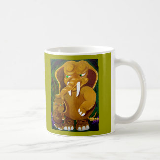 Elephant and Son Coffee Mug