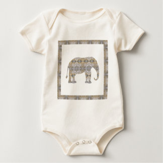 ELEPHANT Animal CRYSTAL Jewel NVN458 KIDS FUN pet Bodysuit