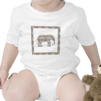 ELEPHANT Animal CRYSTAL Jewel NVN458 KIDS FUN pet Romper