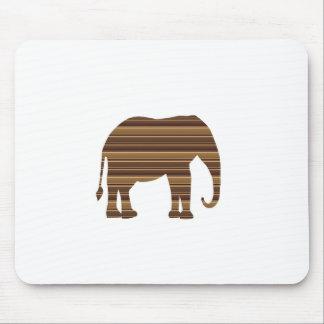 ELEPHANT Animal Tree Trunk Zoo Kids NVN699 FUN Mousepad