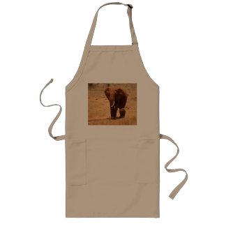 Elephant Long Apron