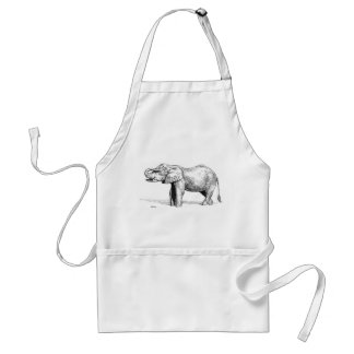 Elephant Adult Apron