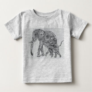 elephant are the best!! baby T-Shirt