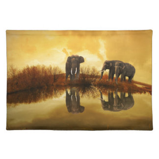 Elephant Art Placemat