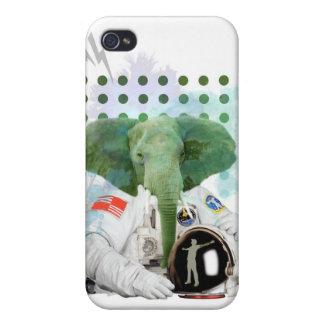 Elephant Astronaut iPhone 4/4S Cover
