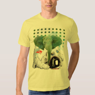 Elephant Astronaut Tees