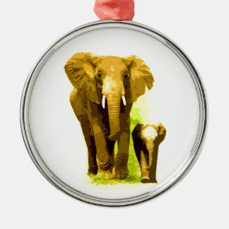 Elephant Baby Elephant Christmas Tree Ornament