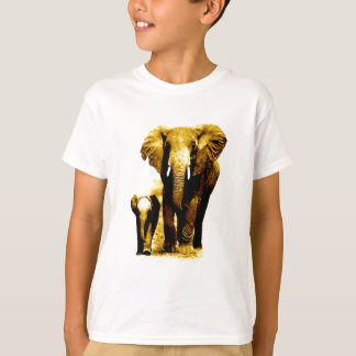 Elephant & Baby Elephant T Shirts