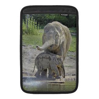 Elephant Baby Gets Shower MacBook Air Sleeves