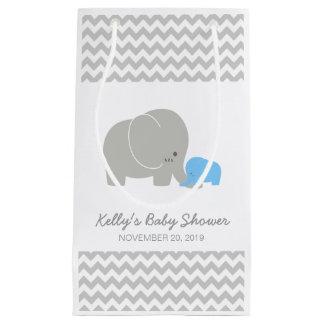 Elephant Baby Shower Chevron Favor Bag