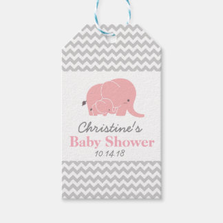 Elephant Baby Shower Favor Tags Pack of Gift Tags