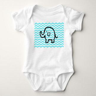 Elephant babygrow baby bodysuit