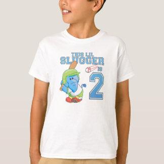 Elephant Baseball 2nd Birthday T-Shirt