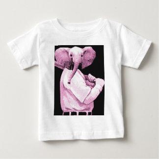 elephant Baseball Baby T-Shirt