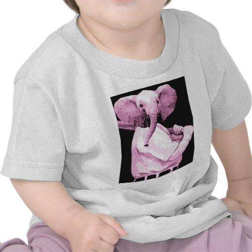 elephant Baseball Tshirt