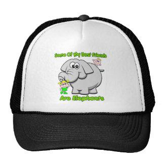 Elephant Best Friends Cap