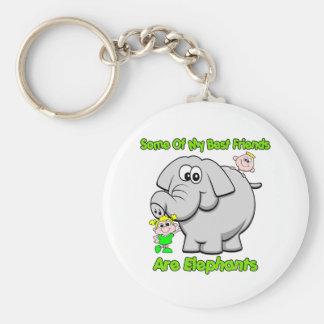 Elephant Best Friends Key Ring