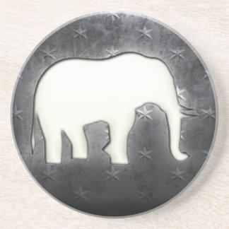 Elephant Beverage Coaster