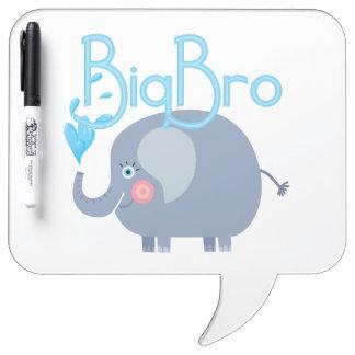 Elephant Big Bro Dry Erase White Board