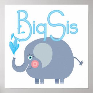 Elephant Big Sis Posters