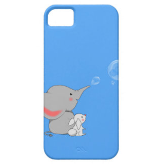 Elephant blowing bobbles iPhone 5 cases