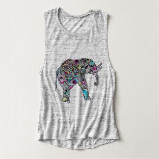 ELEPHANT BOHO STYLE TANK TOP