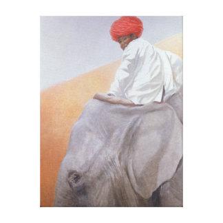 Elephant Boy Canvas Print