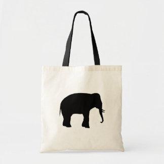 Elephant Budget Tote Bag
