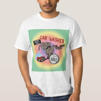 Elephant Car Washer - Funny New Invention T Shirt