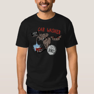 Elephant Car Washer - Funny New Invention T-shirts