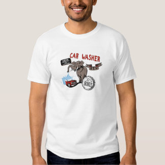 Elephant Car Washer - Funny New Invention T Shirts