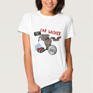 Elephant Car Washer - Funny New Invention Tees