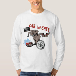 Elephant Car Washer - Funny New Invention Tshirt