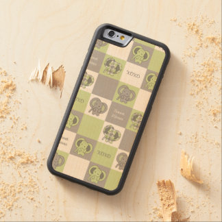Elephant Carved® Maple iPhone 6 Bumper