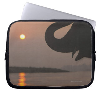 Elephant, Chitwan National Park, Nepal Laptop Sleeve