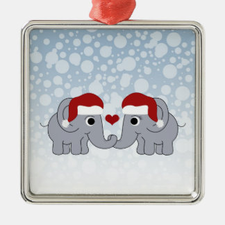 Elephant Christmas Christmas Ornament