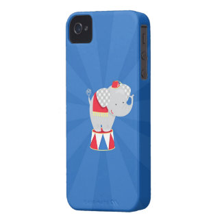 Elephant Circus iPhone 4/4S Case-Mate Barely There Case-Mate iPhone 4 Cases