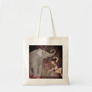 Elephant Circus Tote Bag