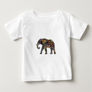 Elephant Colorful Baby T-Shirt