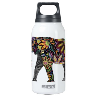 Elephant Colorful Insulated Water Bottle