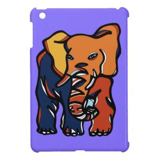 """""""Elephant Colorful"""" iPad Mini Case"""