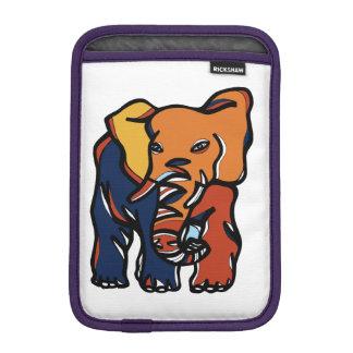 """""""Elephant Colorful"""" iPad Mini Soft Case"""