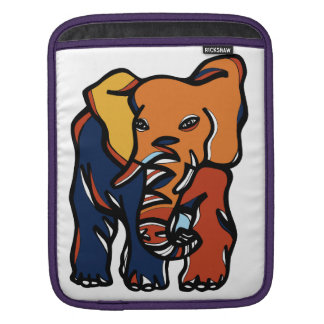 """Elephant Colorful"" Ipad Soft Case"