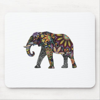 Elephant Colorful Mouse Mat