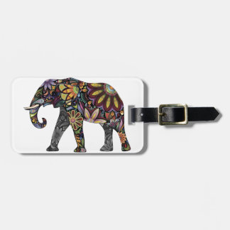 Elephant Colorful Tag For Bags