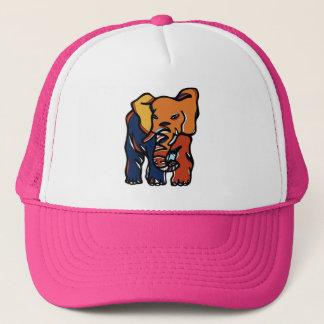 """Elephant Colorful"" Trucker Hat"