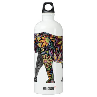 Elephant Colorful Water Bottle